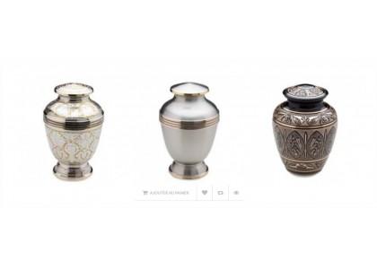 Achat en ligne d'urnes funéraires