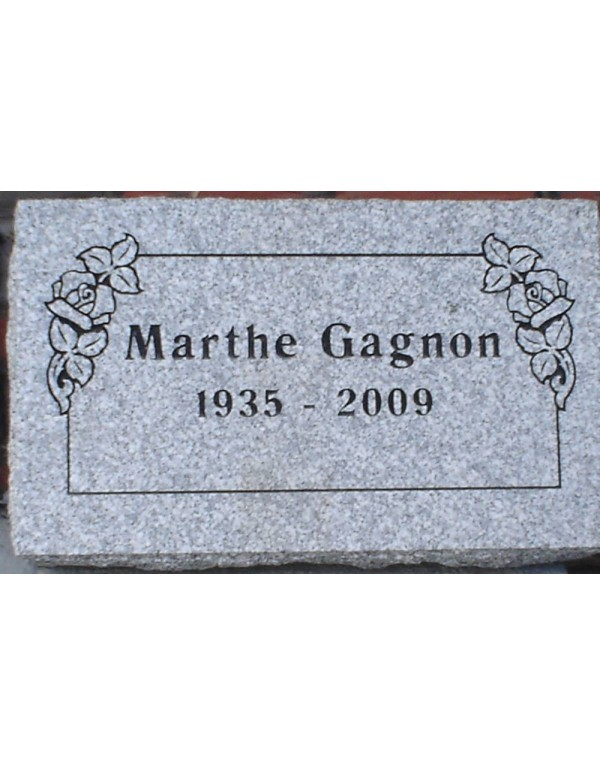 Granit Memorial Plaques #018