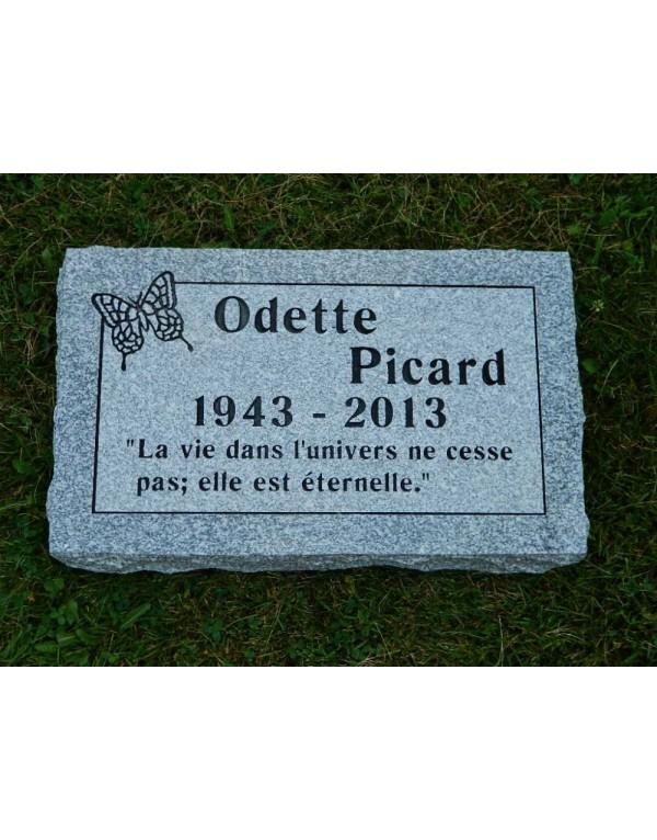 Granit Memorial Plaques #029
