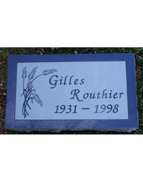 Granit Memorial Plaques #035